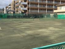 テニスコートの写真